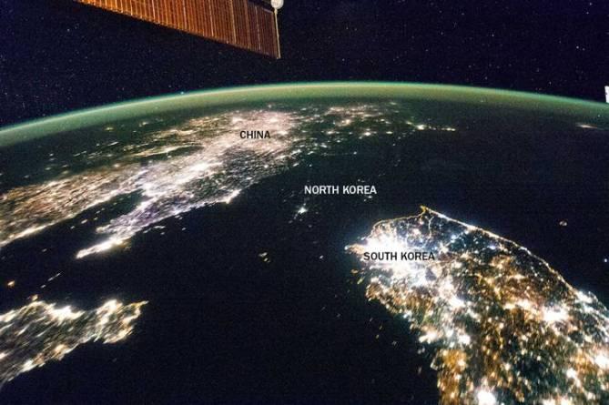 تصاویر هوایی خارق العاده ای که فضانوردان از مرزهای میان برخی از کشورها به ثبت رسانده اند