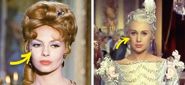 هنگامی که به زنان اجازه آرایش کردن داده شد، آن ها برای زیبایی بیشتر به کشیدن خال مصنوعی روی صورت خود اقدام کردند. خال در آن دوره، جزئی از آرایش به شمار می رفت و زنان برای دلربایی بیشتر روی گونه، زیر لب زیر چشم و ... خال می گذاشتند.