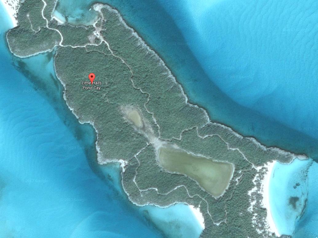 یکی از جزایر به نام Little Halls Pond Cay 6 ساحل مجزا دارد.