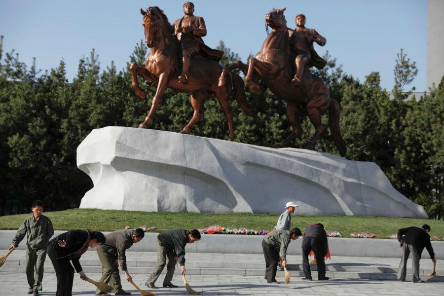 تزئینات شهری در کره شمالی