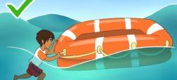 روش هایی ساده اما حیاتی برای زنده ماندن در دریا که باید حتماً بدانید