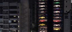 دستگاه فروش خودکار ۴۷ متری ماشین های لوکس در کشور سنگاپور افتتاح شد [تماشا کنید]