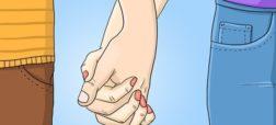انگشتان قفل شده در هم نشان از ارتباط عمیق و شور و حرارت بالای آن ها دارد. وقتی در این حالت دست همدیگر را می گیرید، عموما باید هر دو طرف سفت دست دیگری را در دست نگه دارند. اگر یکی از دو طرف دستش آزادتر باشد، نشانه چندان خوبی به شمار نمی رود.