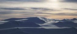 عکس های زیبایی از یخرودها و یخچال های طبیعی که از فراز آسمان کانادا و گرینلند گرفته شده اند