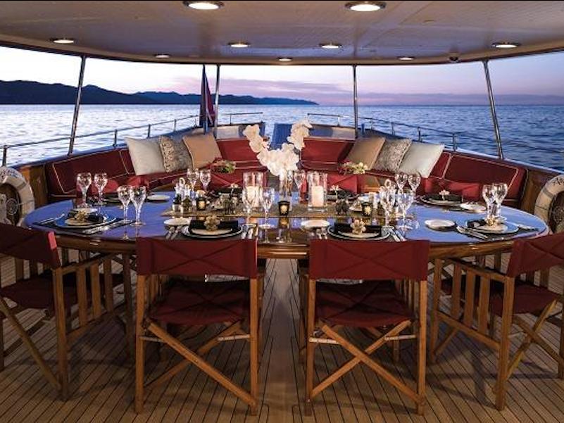 یکی از مدیران مالی این هنرپیشه مشهور هالیوودی به نام «جوئل ماندل» او را به فروش این قایق متقاعد کرد تا بدین واسطه 350 هزار دلار ماهانه پس انداز شود. گفته می شود این قایق را جی کی رولینگ، نویسنده مشهور مجموعه داستانی هری پاتر در سال 2016 میلادی خریداری کرده است.