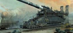 توپ غول پیکر «گوستاو»؛ اسلحه مخرب و ناموفقی که به دستور هیتلر ساخته شد