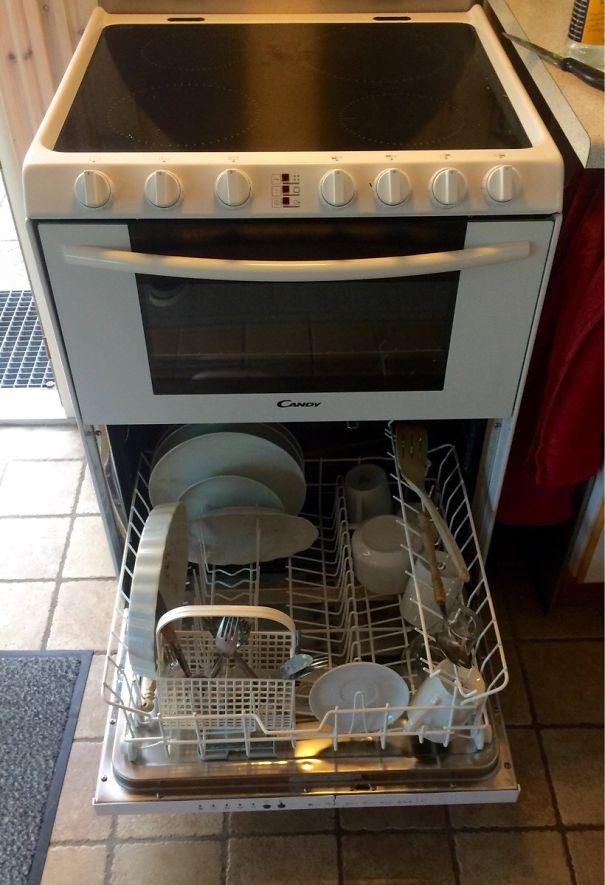 مایکروفر با ماشین ظرفشوئی توکار