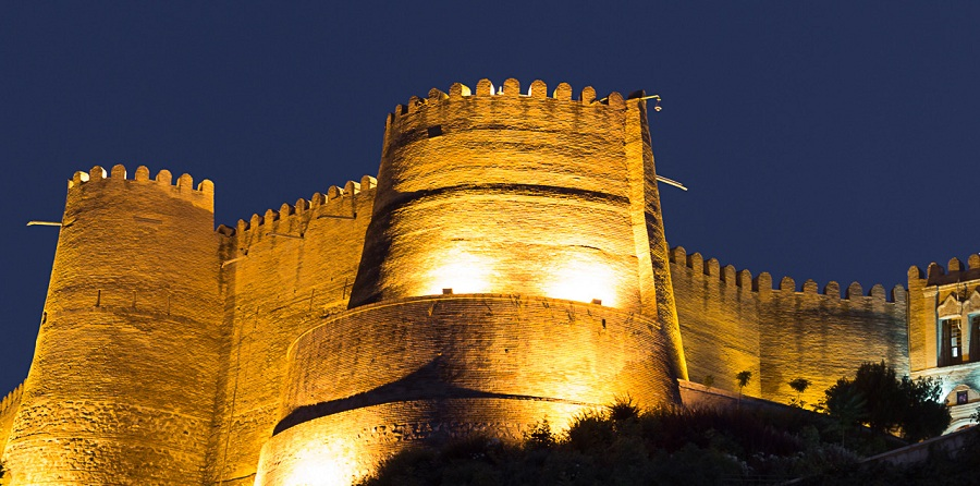 جاذبه های گردشگری لرستان قلعه فلک و الافلاک