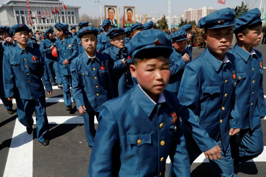 این رویداد همچنین همزمان با یکصد و پنجمین سالگرد تولد و بزرگداشت بنیانگذار کره شمالی، کیم ایل سونگ در روز پانزدهم آوریل بود.