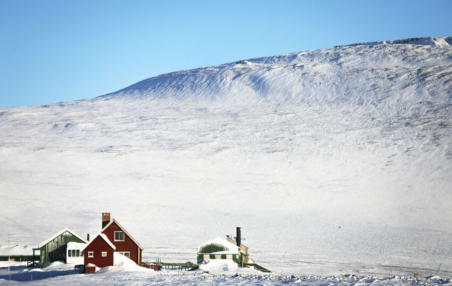 خانه ای در نزدیکی فرودگاه ثول، 25 مارس 2017، پیتوفیک، گرینلند
