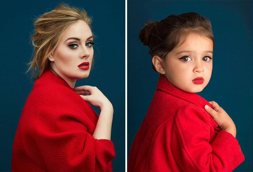 اسکوت دختر بچه مدلینگ,ژست دختر بچه