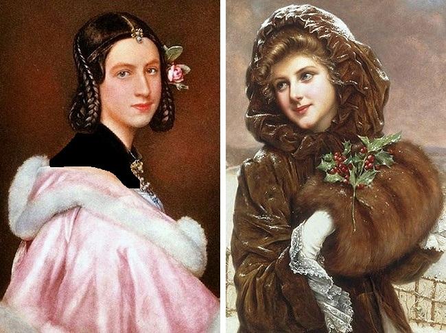 ملکه ویکتوریا در دوران حکومت خود آرایش زنان را ممنوع اعلام کرد اما این مانع از این نشد که زنان به زیباسازی صورت خود نپردازند. به دنبال این ممنوعیت، خانم ها به جای استفاده از رژلب، لب های خود را گاز و گونه هایشان را نیشگون می گرفتند تا قرمز و براق شود.