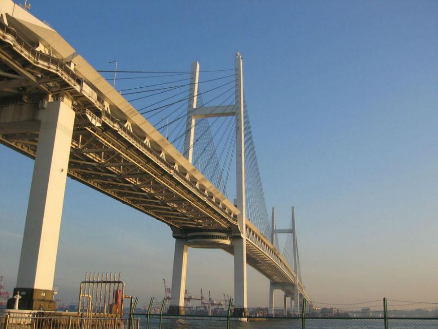 پل خلیخ یوکوهاما، ژاپن