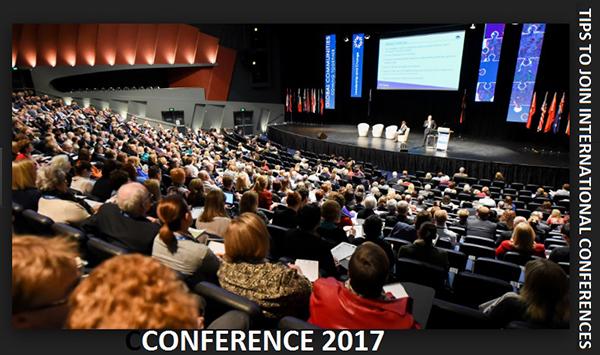 چگونه در کنفرانس های بین المللی شرکت کنیم؟