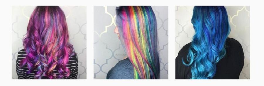 خط براق روی موها، گرایش جدیدی که در اینستاگرام بسیار پر طرفدار شده است