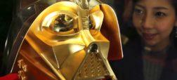 ساخت ماسک طلای شخصیت «دارت ویدر» به ارزش ۵ میلیارد تومان به مناسبت چهلمین سالروز اکران «جنگ ستارگان»