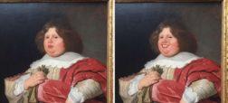 هنرمندی که با استفاده از نرم افزار «فیس اَپ» بر لبان پرتره های کلاسیک عبوس خنده نشانده است