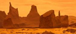تصاویری حیرت انگیز از کوه های یخی شناور که به اثرهای هنری شباهت دارند
