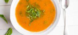 خوشمزه روز: طرز تهیه سوپ گوجه فرنگی [تماشا کنید]