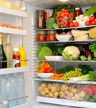 Contents Of Refrigerator