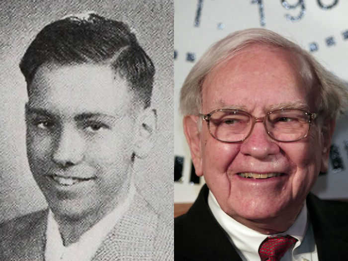 warren buffett young and old-w700