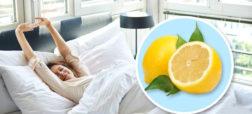 قرار دادن یک لیموترش تازه در کنار تختخواب، چه مزایایی دارد؟