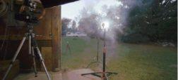 ویدئوی اسلوموشنی که لحظه انفجار وسایل آتش بازی را به تصویر کشیده است [تماشا کنید]