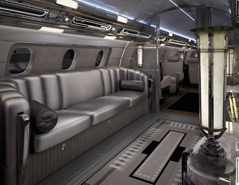 مسافران می توانند در این قسمت به تماشای فیلم یا برنامه های تلویزیونی بنشینند.