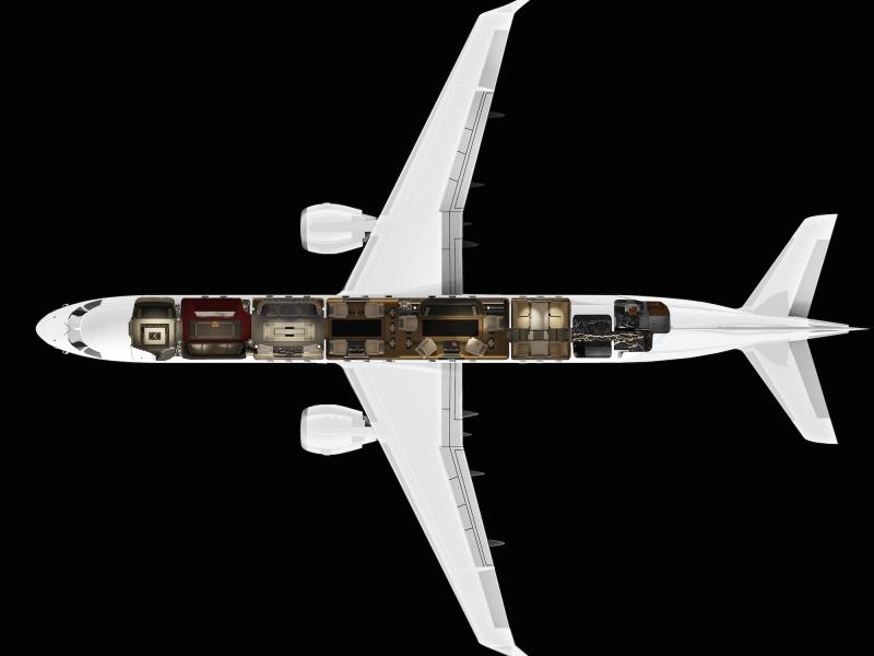 قیمت این همه امکانات و تزئینات چقدر است؟ Embraer Lineage 1000E را می توان با 53 میلیون دلار خریداری کرد اما با پرداخت 30 میلیون پول بیشتر، بدنه هواپیما نیز کاملا براق و درخشنده خواهد بود.