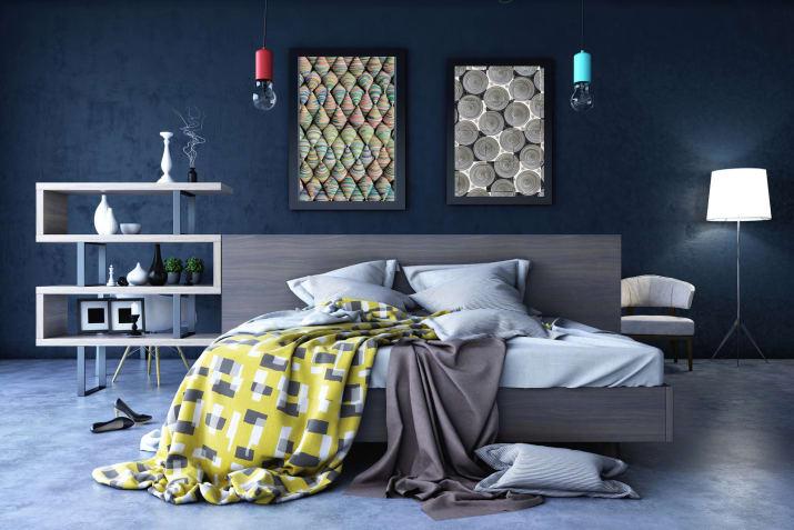 اتاق خواب رویایی با امکانات کامل و رنگ آمیزی و نورپردازی منحصر به فرد.