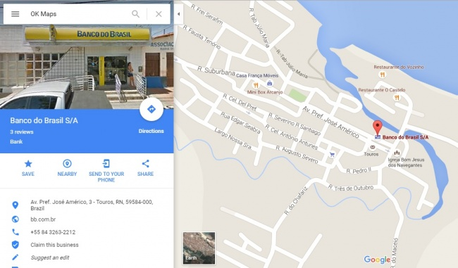OK Maps عکس نقشه گوگل شما را ذخیره می کند از این رو می توانید نقشه مسیر خود را به صورت آفلاین هم در اختیار داشته باشید. برای این منظور فقط کافی است در نوار جست و جو عبارت OK Maps را تایپ کنید تا گوگل بقیه کارها را خودش برایتان انجام دهد.