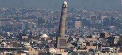 تصاویری از مسجد ۸۴۵ ساله ای در شهر موصل که به دست داعش تخریب شد