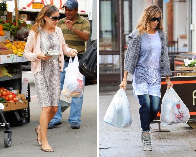 سارا جسیکا پارکر نیز از دیگر هنرمندانی است که روی مساله پول حساسیت زیادی دارد و بسیار با حساب و کتاب آن را خرج می کند و خیلی اصرار دارد که این مساله را به فرزندان خود نیز بیاموزد. پارکر، تقریبا بیشتر لباس هایش را خودش می دوزد و ترجیح می دهد لباس های دست دوم خریداری نماید تا هزینه کمتری برایش داشته باشد. وی یکی از کفش های برند Carrie Bradshaw خود را در یک مزایده به فروش گذاشت و مبلغ به دست آمده از آن را به یک مدرسه هنر و موسیقی اهدا کرد.