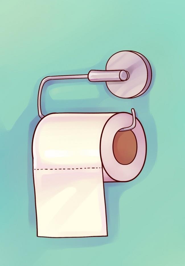 برای اینکه استفاده راحت تری از دستمال توالت داشته باشید و به آسانی برگه های آن را جدا کنید، لازم است دستمال را به رو در جایگاه بگذارید؛ یعنی سمتی که دنباله دستمال قرار دارد. به این ترتیب، دیگر هرگز دست های شما با دیوارهای سرویس بهداشتی تماسی پیدا نخواهند کرد.
