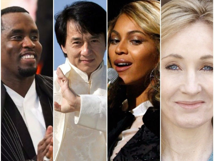 مجله فوربس اسامی ۱۰۰ چهره مشهور با بیشترین دستمزد دریافتی سالانه را منتشر کرد