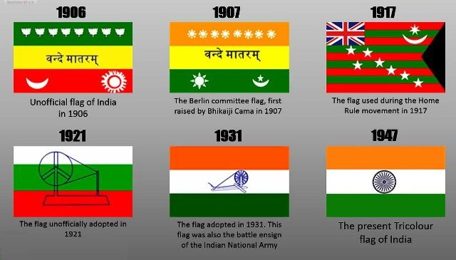 Indian-Flag-History