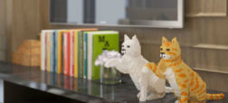 گربه های لگویی؛ مجسمه هایی گران قیمت برای آنهایی که به این حیوانات عشق می ورزند