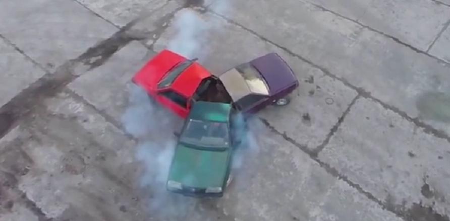 وقتی یک مرد روسی با ماشین های واقعی فیجت اسپینر می سازد [تماشا کنید]
