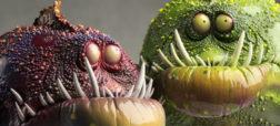 عروسک های زیبایی از گونه های جانوری دریایی که با استفاده از خمیر پلیمری ساخته شده اند