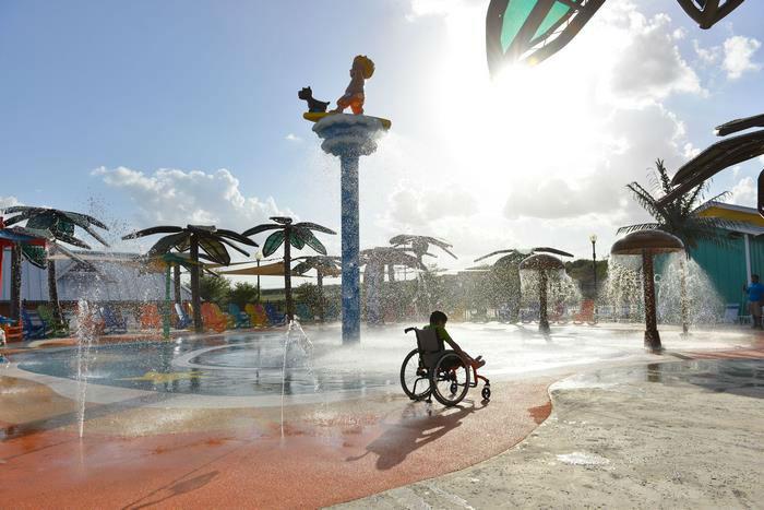 اولین پارک آبی ویژه معلولین با نام «جزیره الهام بخش مورگان» در ایالت تگزاس آمریکا رونمایی شد