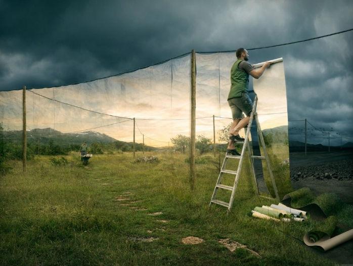عکس های خارق العاده یک عکاس سوئدی که دنیاهای غیرممکن را به تصویر می کشند