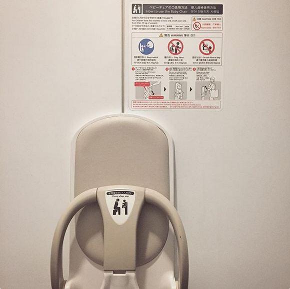 والدینی که نمی توانند خردسالان خود را بیرون در دستشویی بگذارند، همچنین نمی توانند آن ها را با خود به داخل سرویس بهداشتی ببرند، با استفاده از این صندلی می توانند با کودک خود دستشویی رفته و از امنیت وی مطمئن شوند.