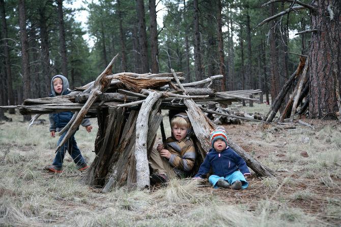 خانواده خضرنژاد در جنگل