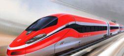 مسابقه هیجان انگیز سرعت بین یک قطار سریع السیر و جت جنگنده [تماشا کنید]