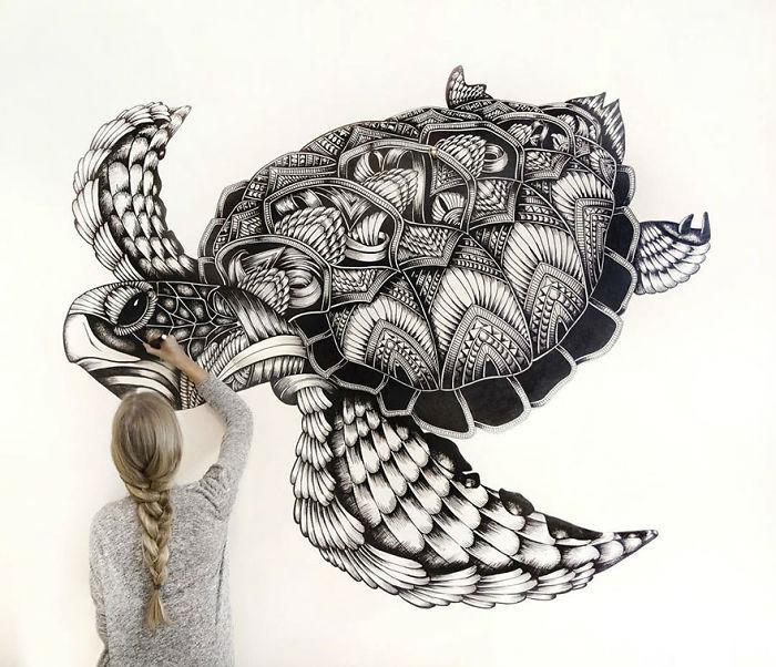 intricate-animal-drawings-faye-halliday-1-59539076b1c82__700-w700