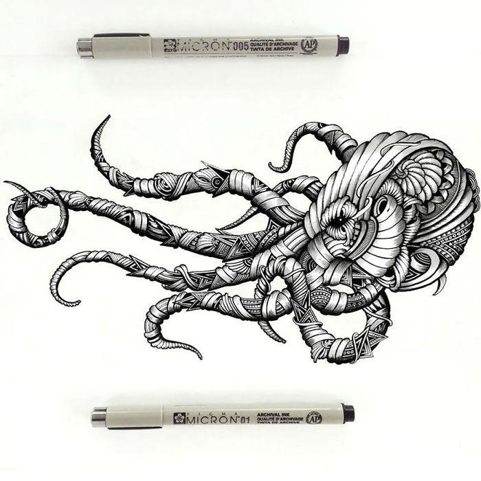 intricate-animal-drawings-faye-halliday-27-5953981aa33c1__700-w700