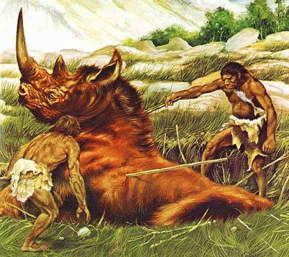 neanderthal hunting