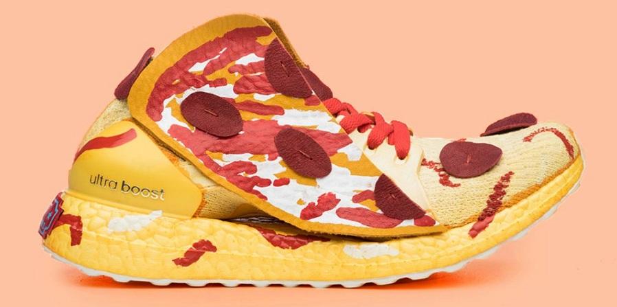 آدیداس کتانی هایی به شکل پیتزا را به تعداد محدود عرضه کرد