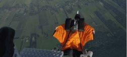 تجربه پرواز در آسمان با سوئیت وینگ های مجهز به موتور هواپیما [تماشا کنید]