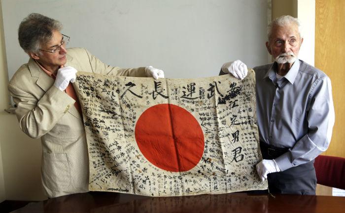 یادگاری یک سرباز ژاپنی در جنگ جهانی دوم پس از ۷۳ سال بهخانواده اش بازگردانده شد